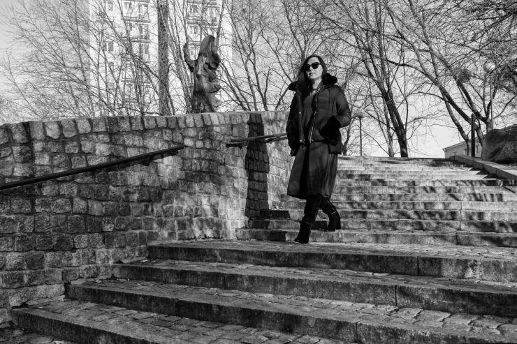 Edyta Andrzejewska.blog czarna kurtka