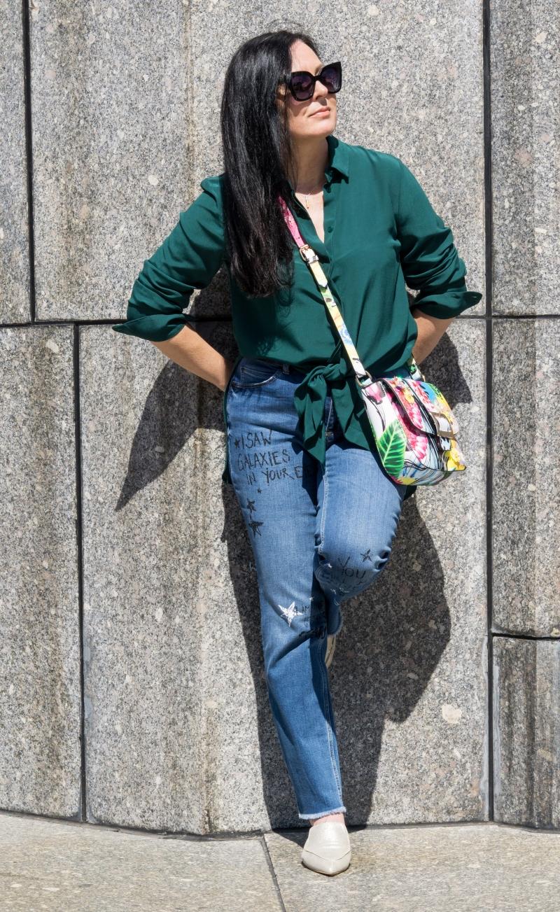 edytaandrzejewska.blog zielona koszula