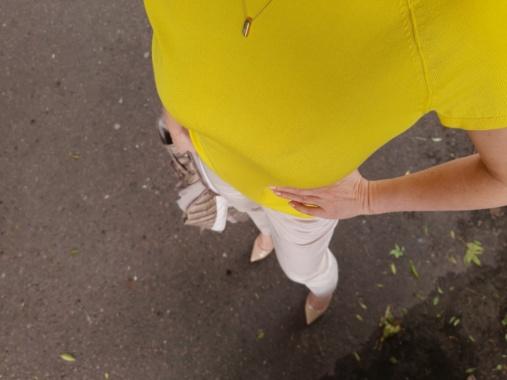 Żółta bluzka 19