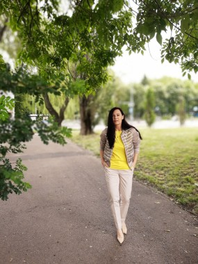 Żółta bluzka 6