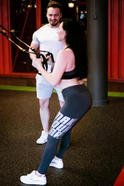 Moda na fitness
